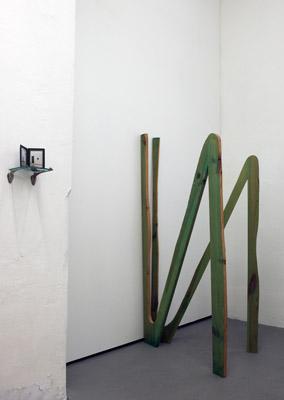 Semjon Contemporary, Takayuki Daikoko vom 19. Juli 2013 bis 17. August 2013. Gartensalon, Nataly Hocke